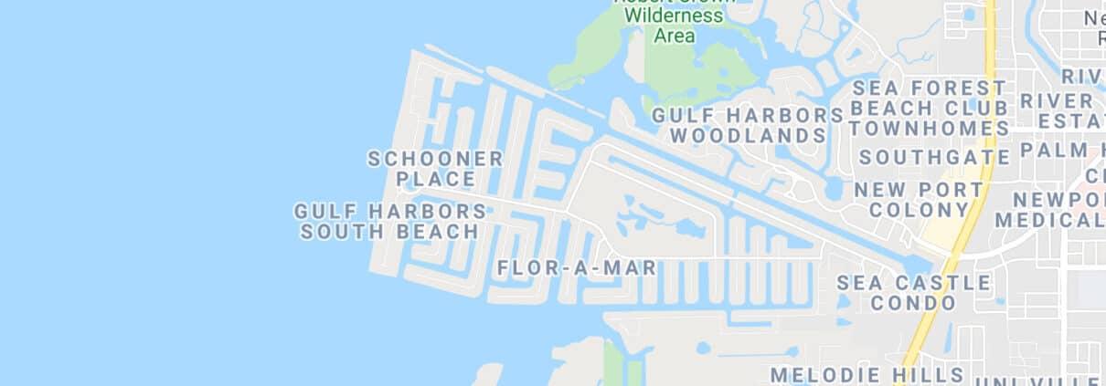 Gulf-Harbors-Land-Map